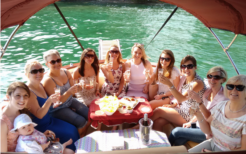Bithday or Hen Parties with boat tour