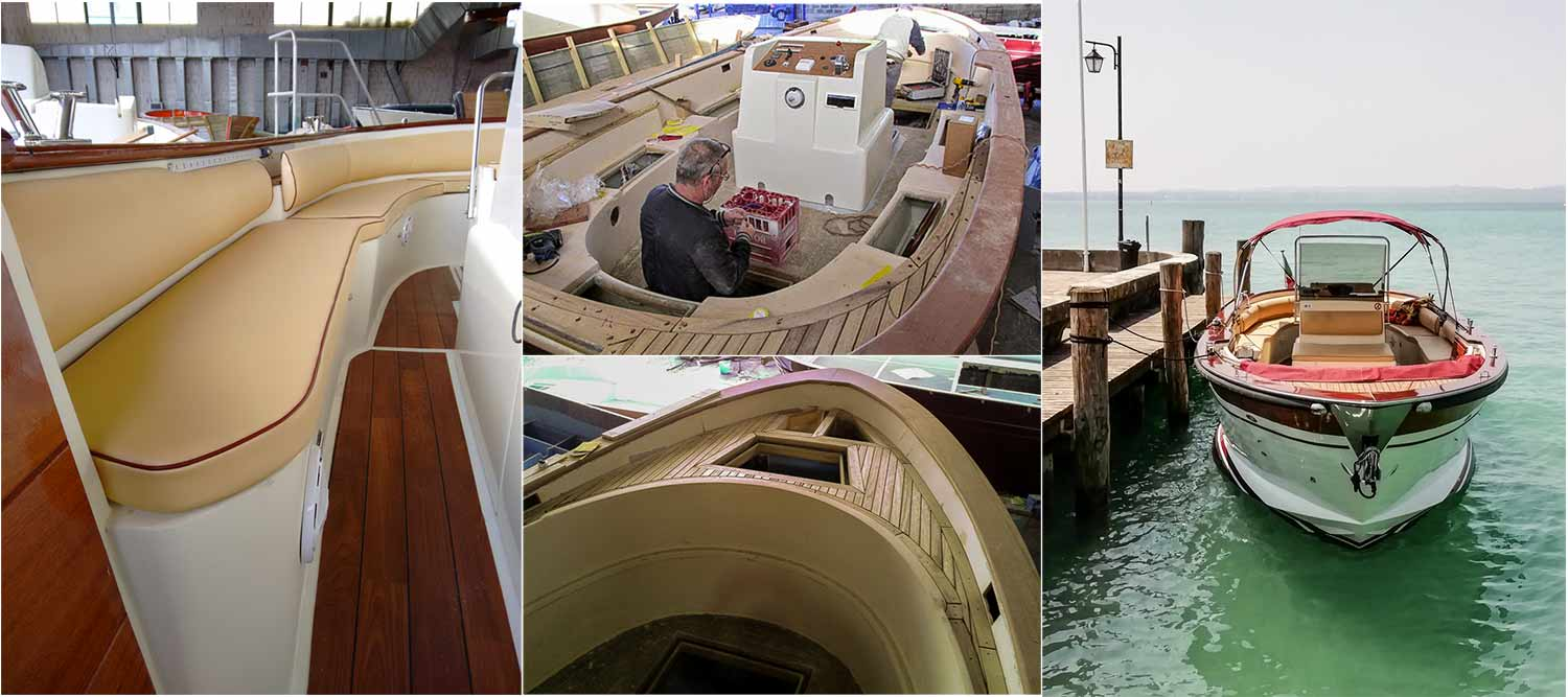 Beeboatservice's boat - A Sorrento Gozzo made entirely by hand