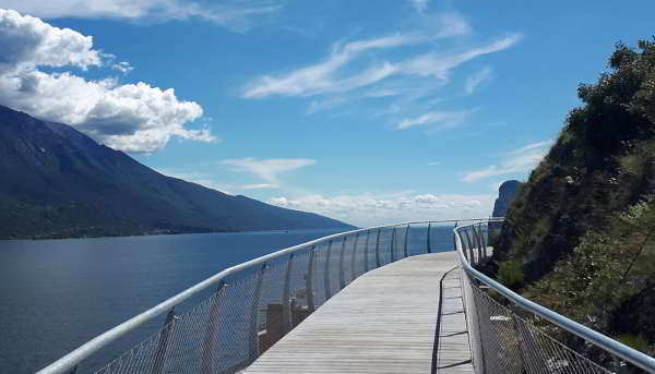 Discover Garda by Bike, the elevated bike path on Lake Garda