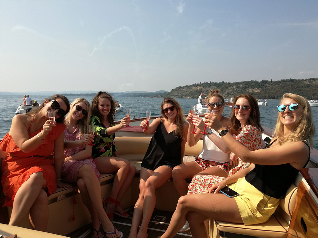 Lake Garda Hen and Stag Parties by Boat - Bachelor or bachelorette Parties