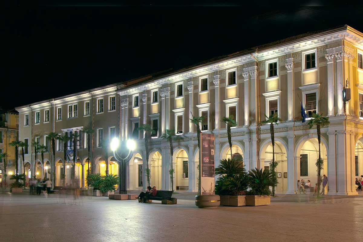 Palazzo della Magnifica Patria by night