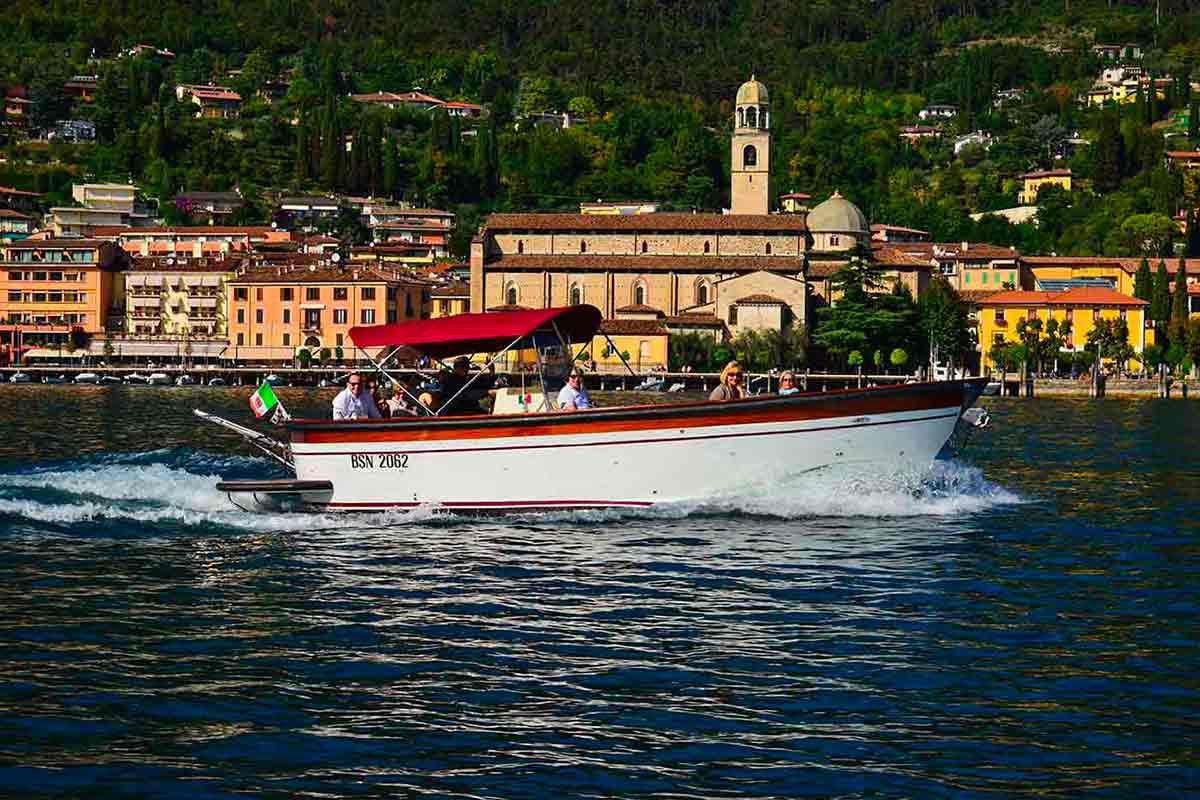 Salo Cathedral seen by boat
