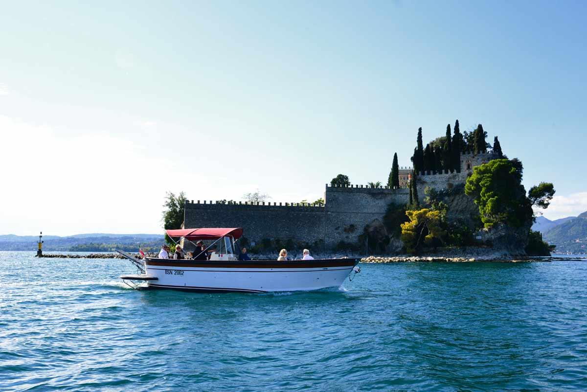 Garda island boat trip